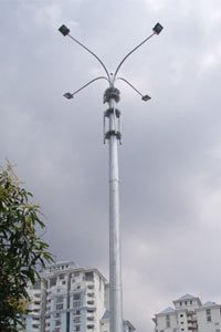 Communications-pole